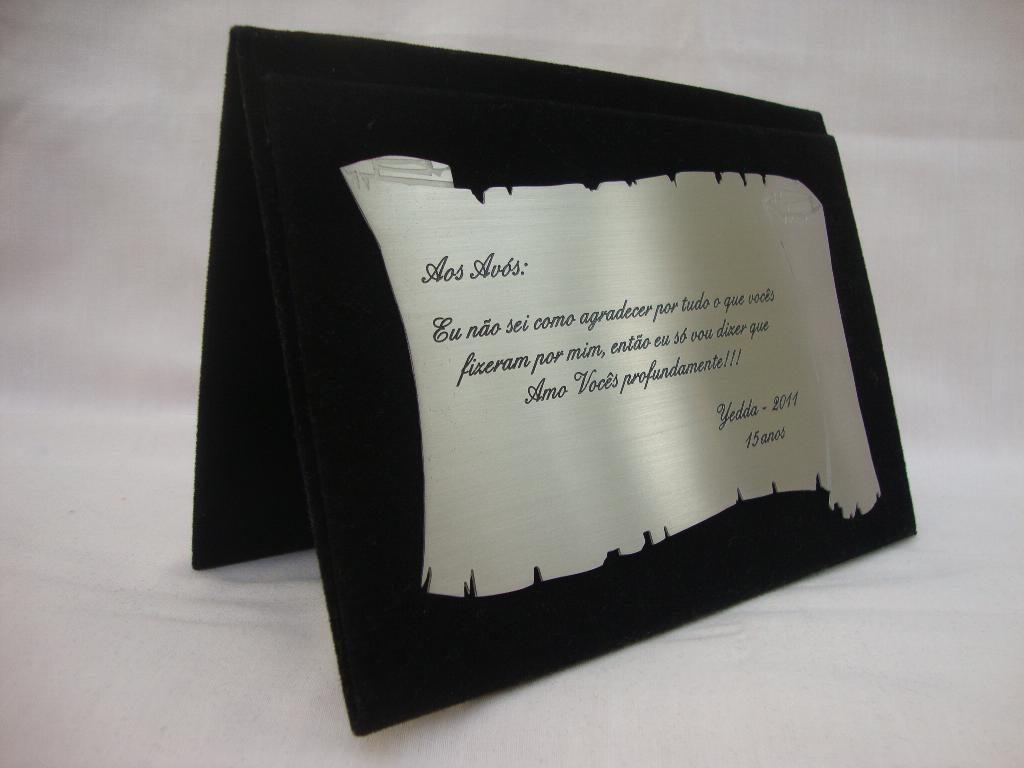 O que escrever numa Placa de Homenagem
